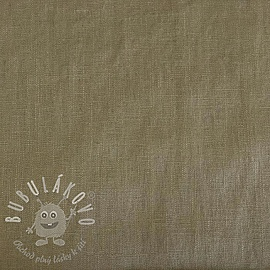 Linen enzyme washed sand
