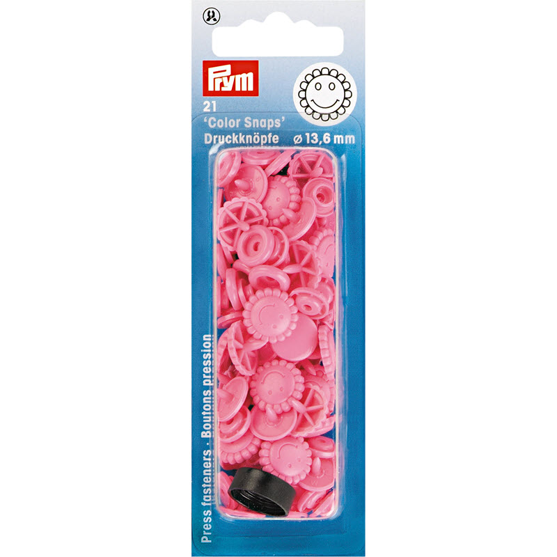 Colorsnaps PRYM Flower pink