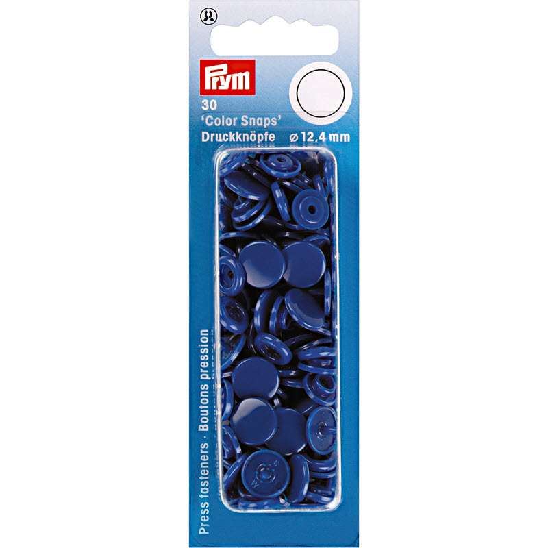 Colorsnaps PRYM royal blue