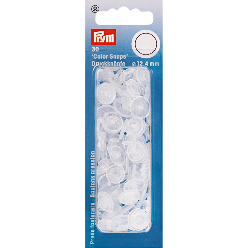 Colorsnaps PRYM transparent matt
