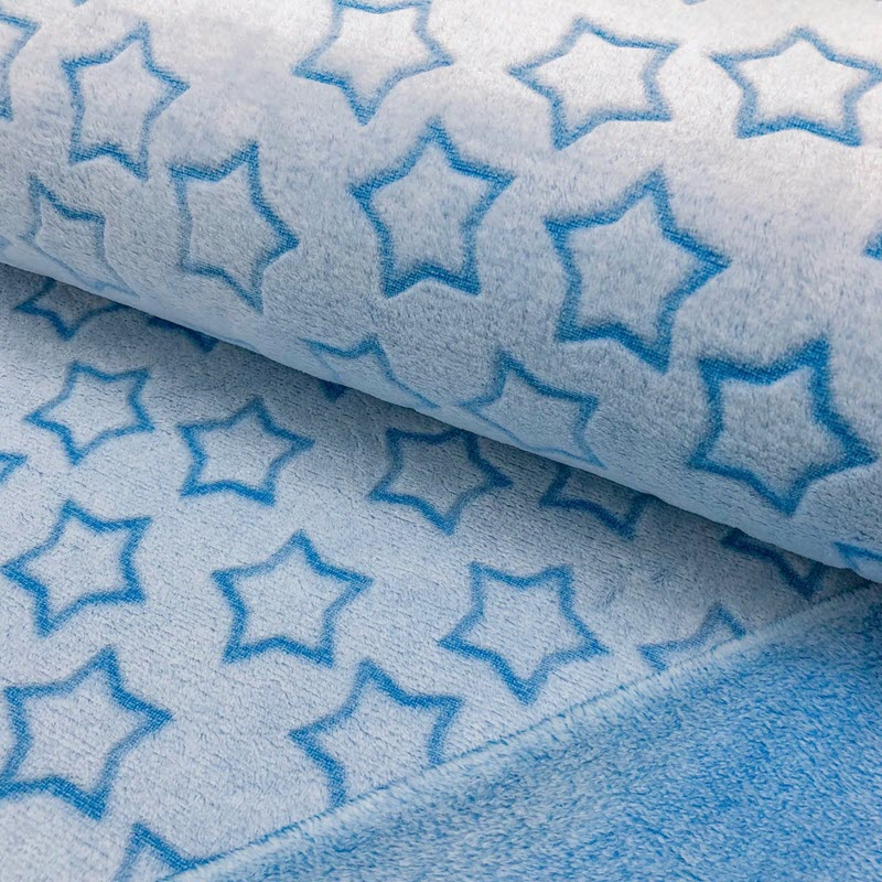 Fleece Wellness Star aqua