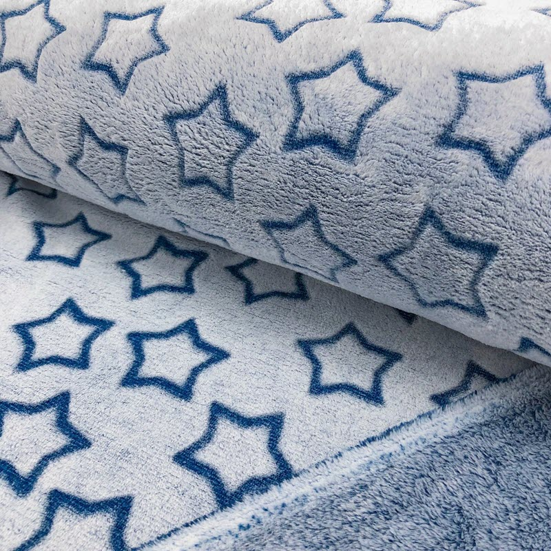Fleece Wellness Star cobalt