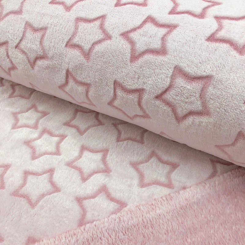 Fleece Wellness Star old pink