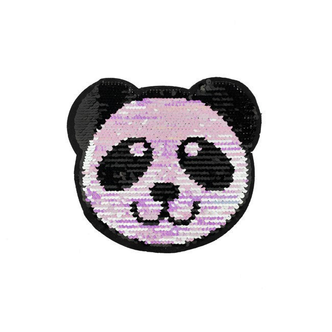 Flitry oboustranné Panda mini pastel