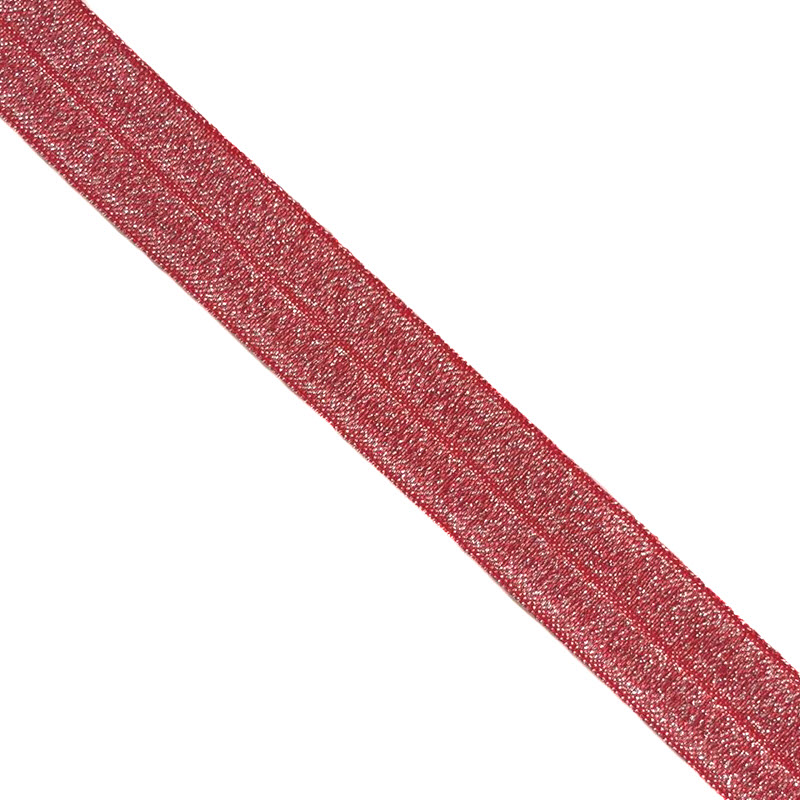 Lemovací guma glitter 20 mm red