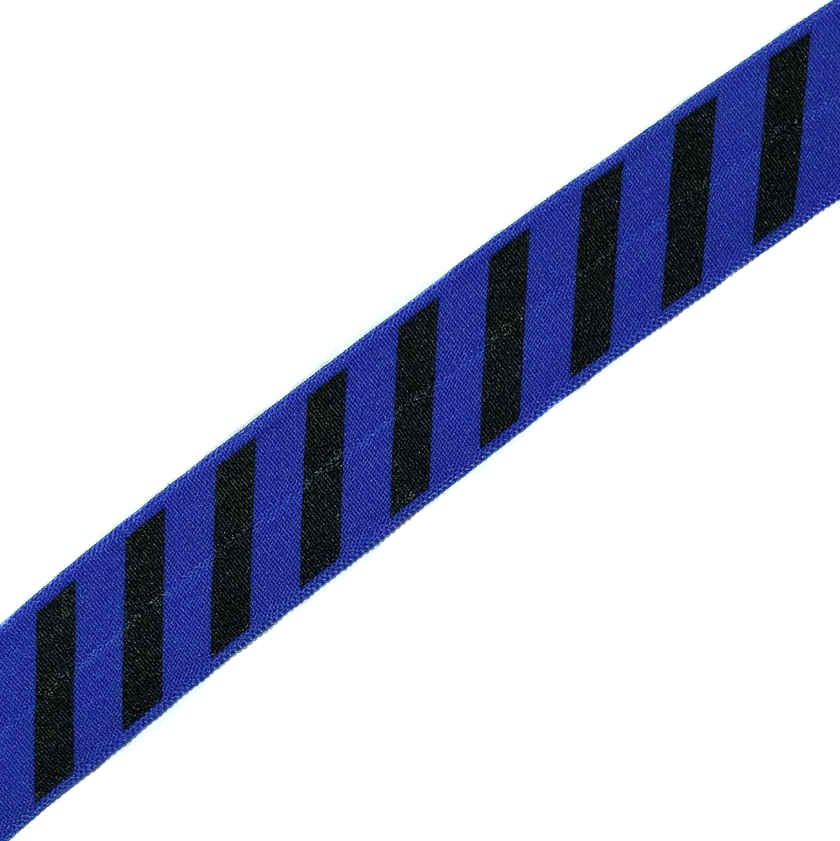 Lemovací guma STRIPE 20 mm cobalt