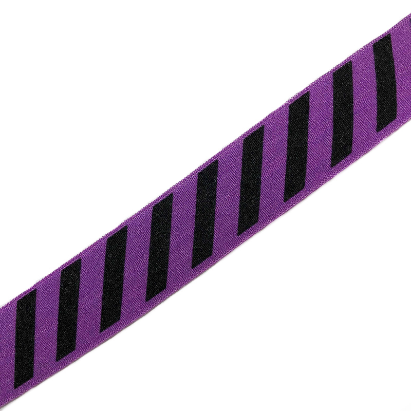 Lemovací guma STRIPE 20 mm purple
