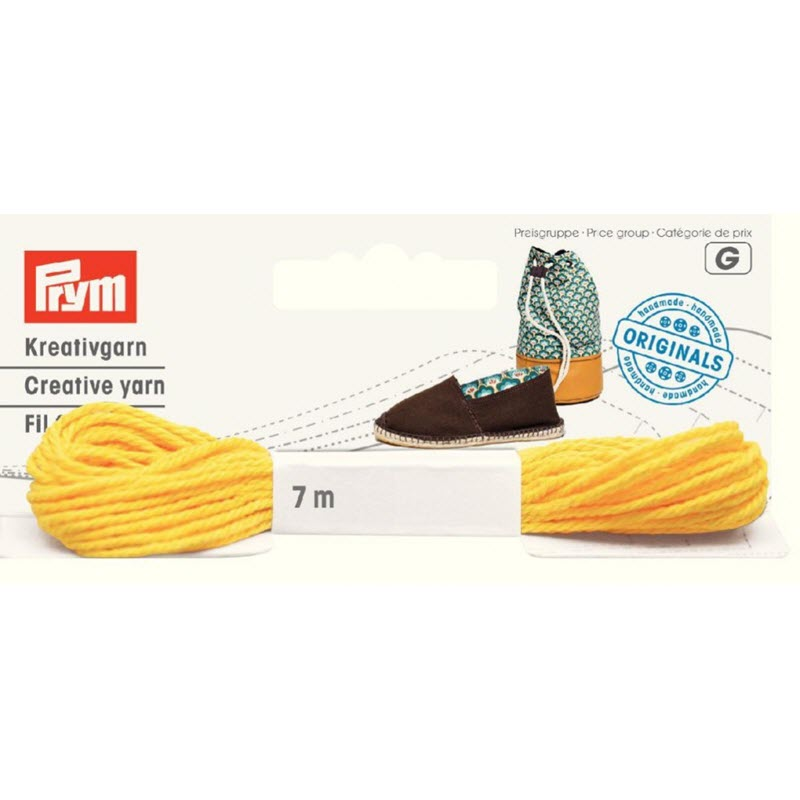 PRYM LOVE nit na boty yellow