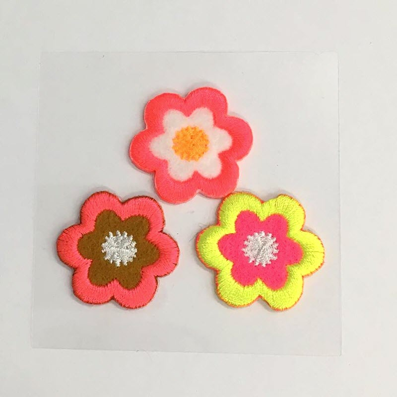 Sticker MIDI Neon Flowers