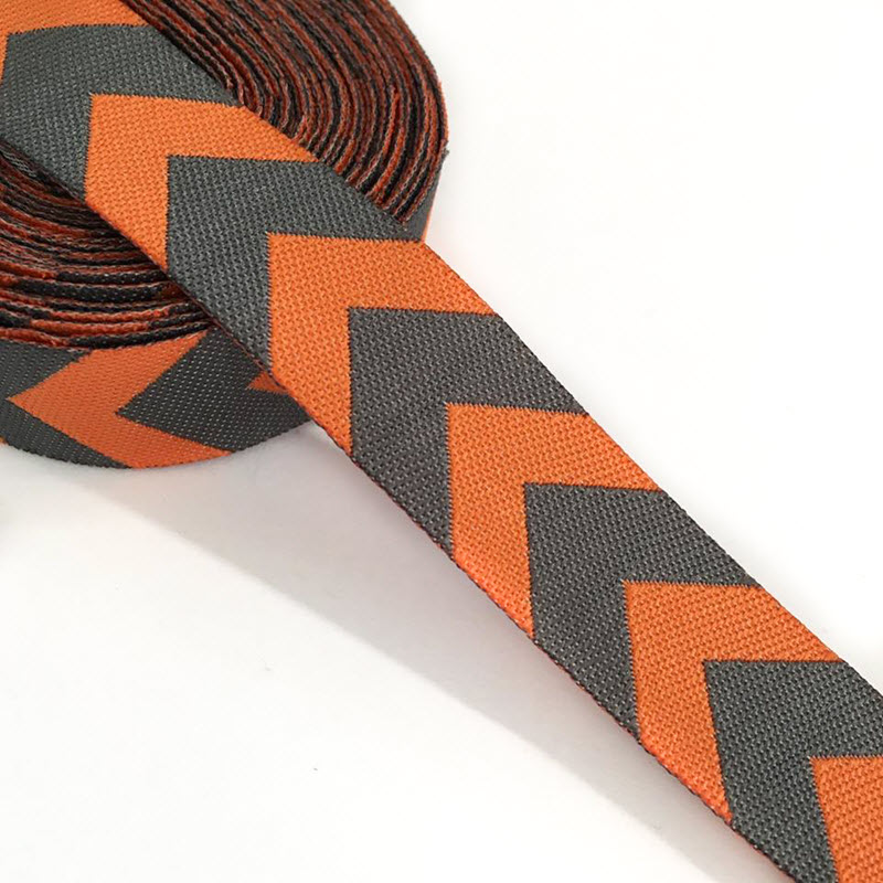 Stuha Chevron orange