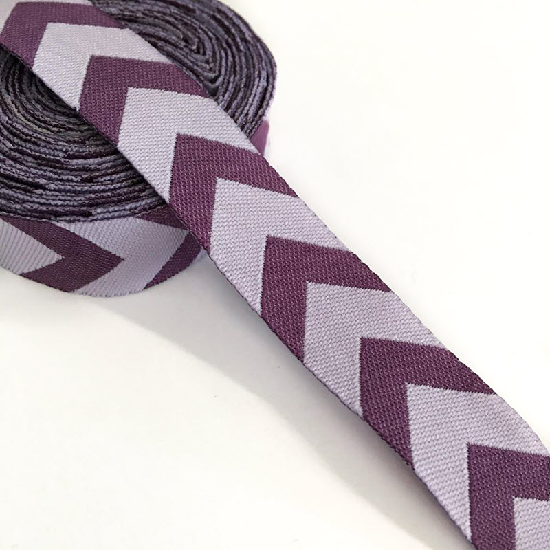 Stuha Chevron purple