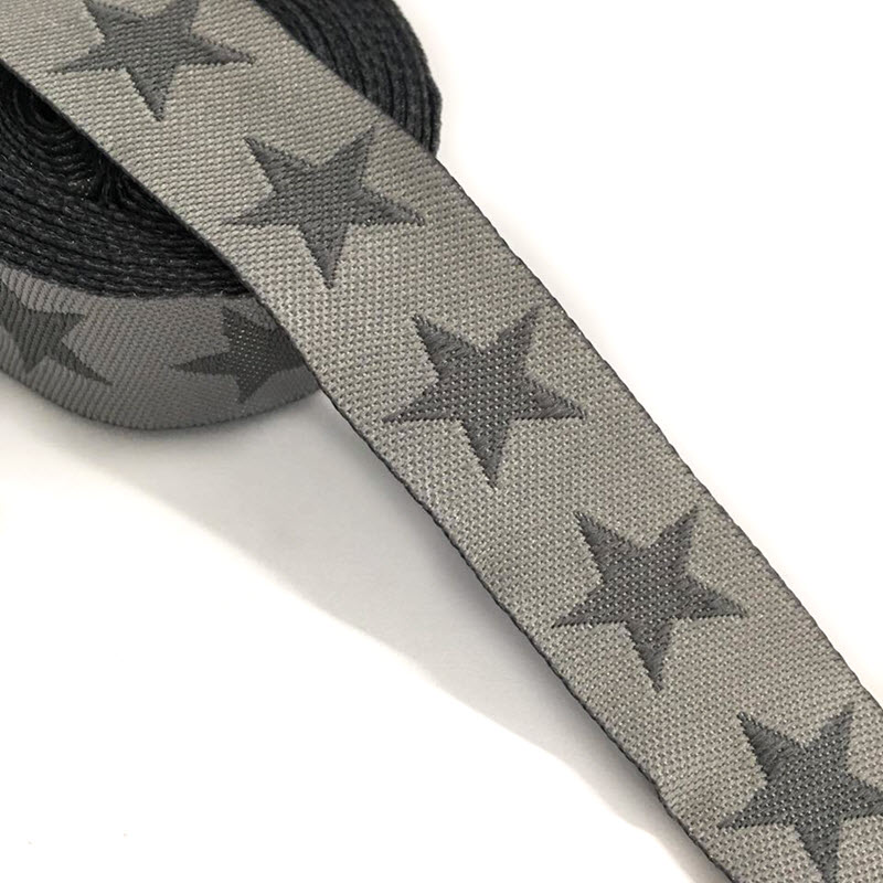 Stuha Stars light grey dark grey 315a98927e