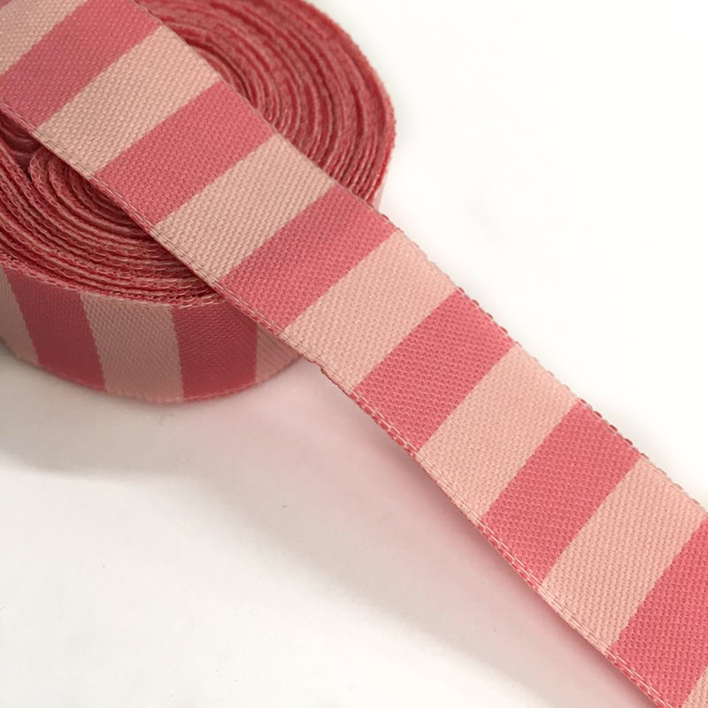 Stuha Stripe light pink