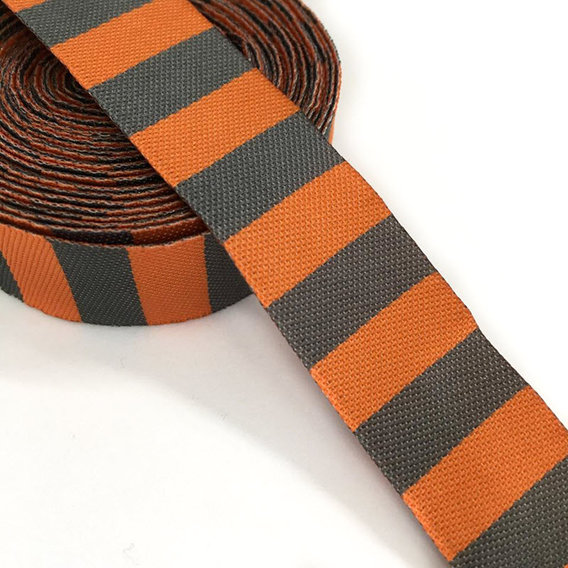 Stuha Stripe orange