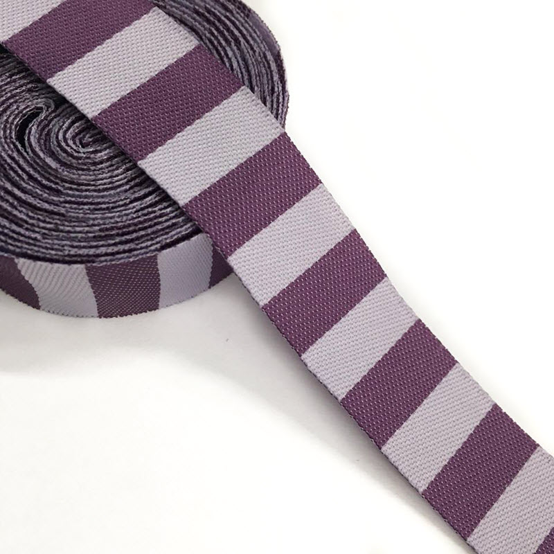 Stuha Stripe purple