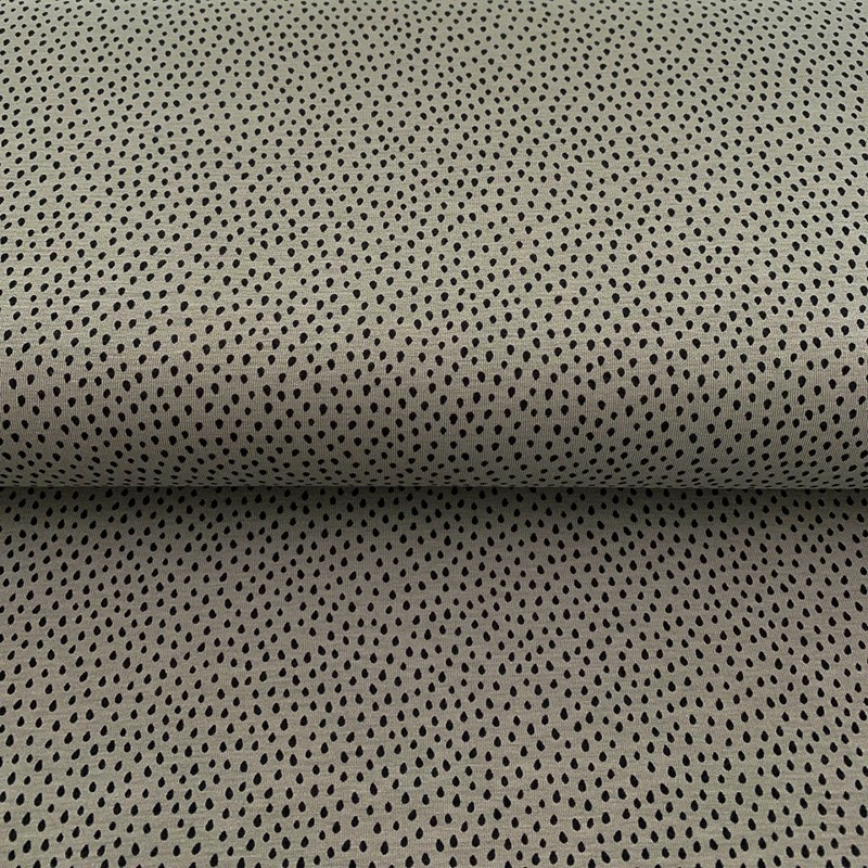 Úplet Crazy dots grey