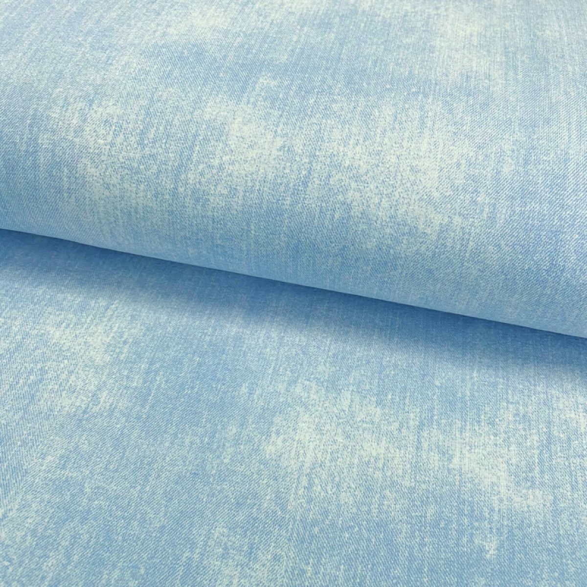 Úplet JEANS light blue