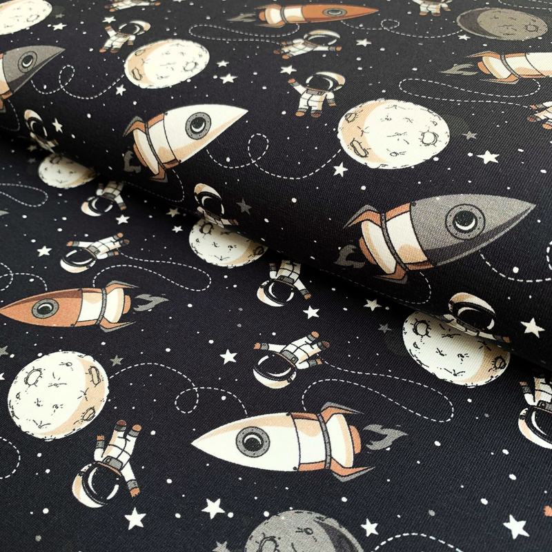 Úplet Space ship black