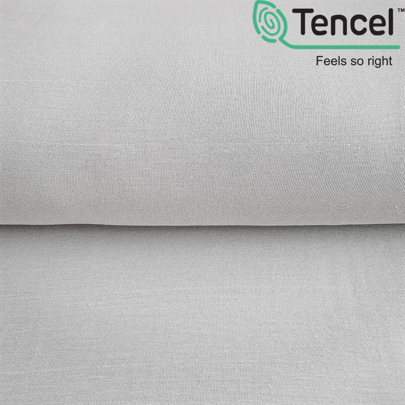Úplet TENCEL modal light grey