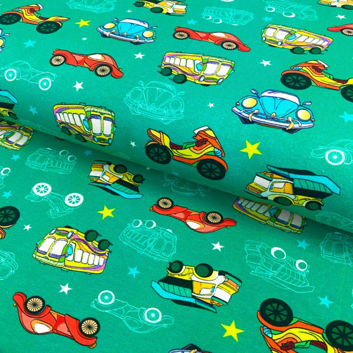 Úplet Toy cars digital print